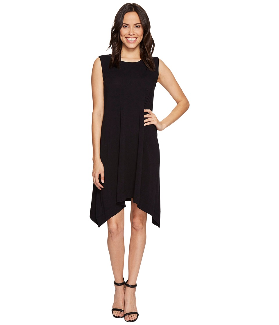 Nally & Millie - Sleeveless A-Line Dress (Black) Women's Dress