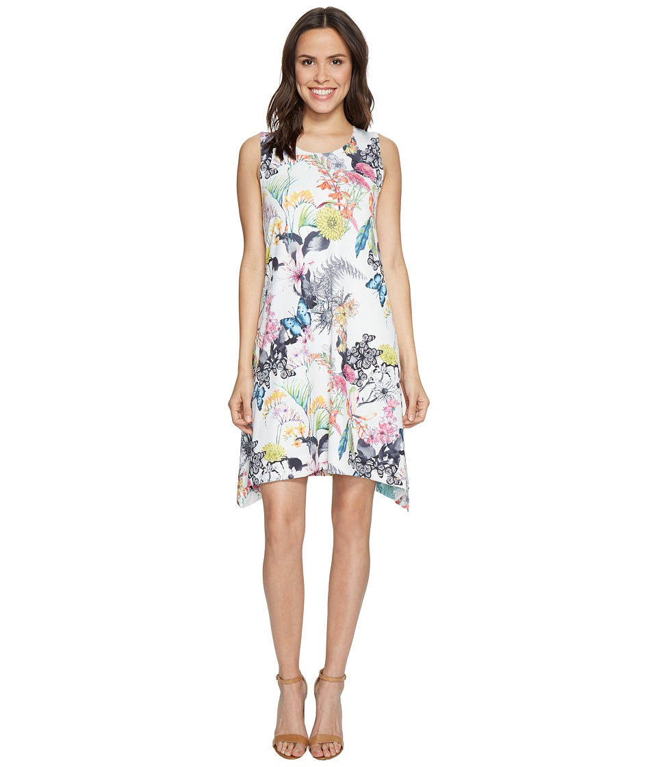 Nally & Millie - Printed Reversible Dress (Multi) Women's Dress