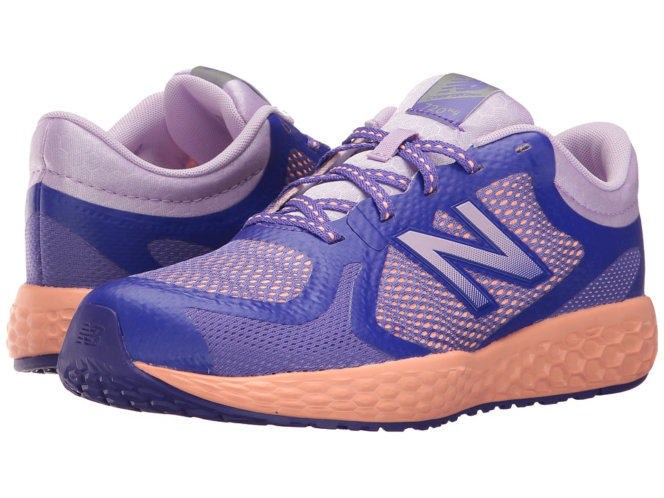 New Balance Kids KJ720v4 (Little Kid/Big Kid) (Purple/Coral) Girls Shoes