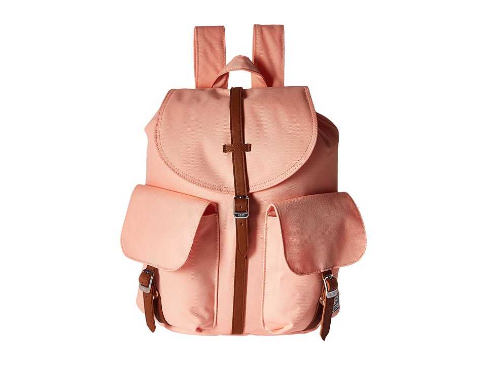 Herschel Supply Co. - Dawson (Apricot Blush/Tan Synthetic Leather) Bags