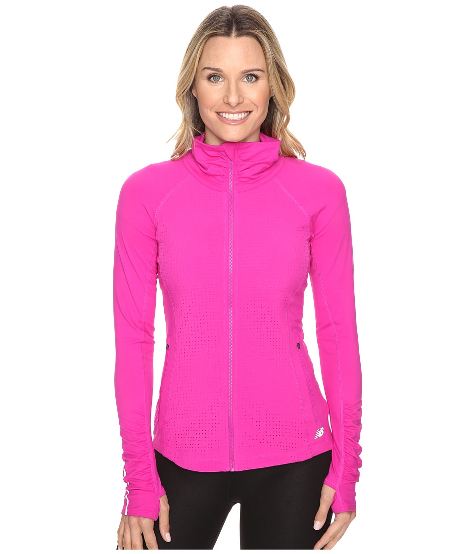 New Balance - PP En Route Jacket (Azalea) Women's Coat