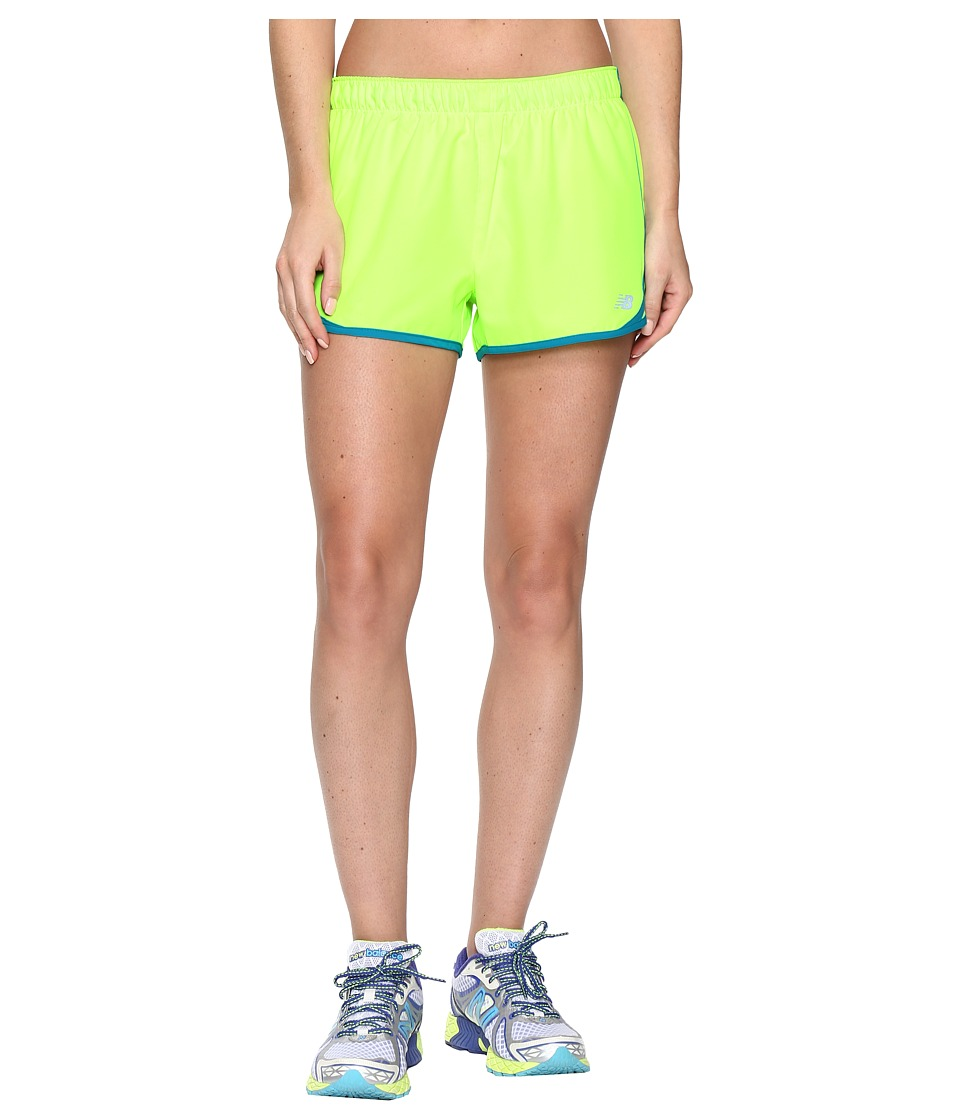 New Balance - Accelerate 2.5 Shorts (Toxic) Women's Shorts