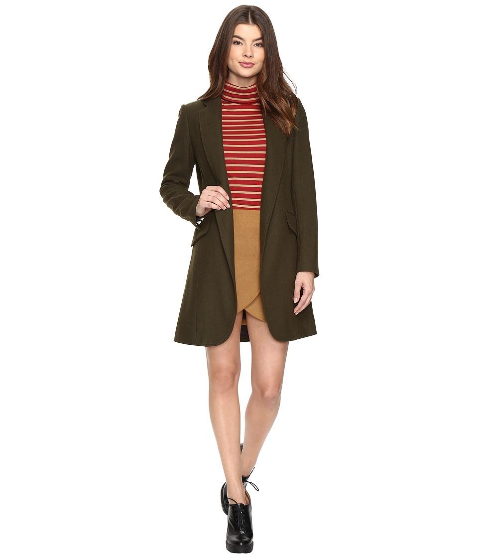 LAVEER - Sharp Jacket (Hunter) Women's Coat