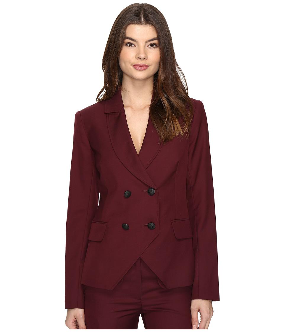 LAVEER - Kadette Blazer (Raisin) Women's Coat
