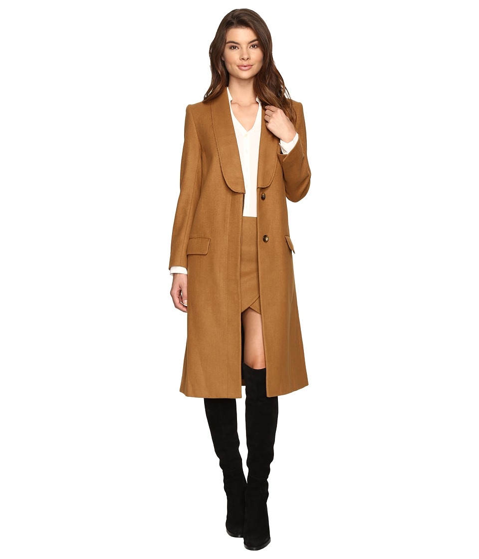 LAVEER - Tux Overcoat (Camel) Women's Coat