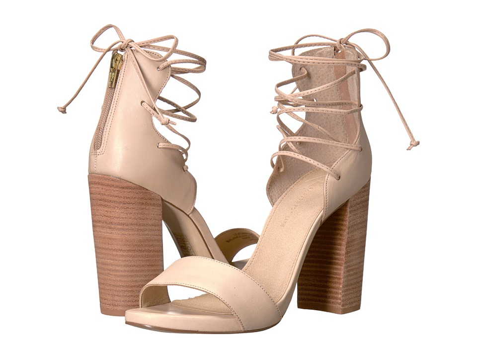 LFL by Lust For Life - Gaze (Nude Leather) High Heels