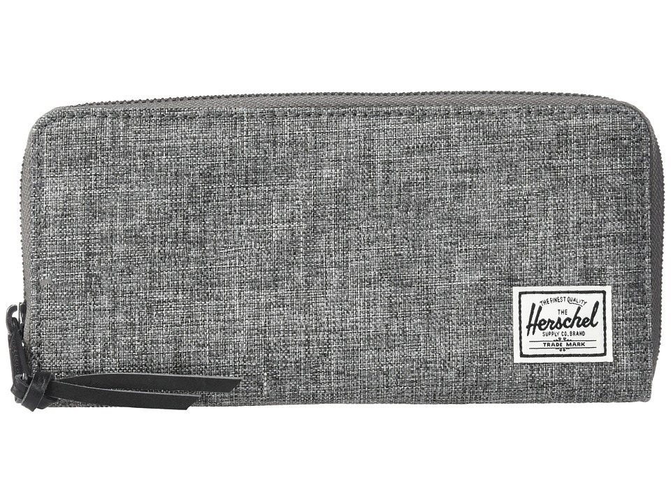 Herschel Supply Co. - Avenue RFID (Raven Crosshatch) Wallet Handbags