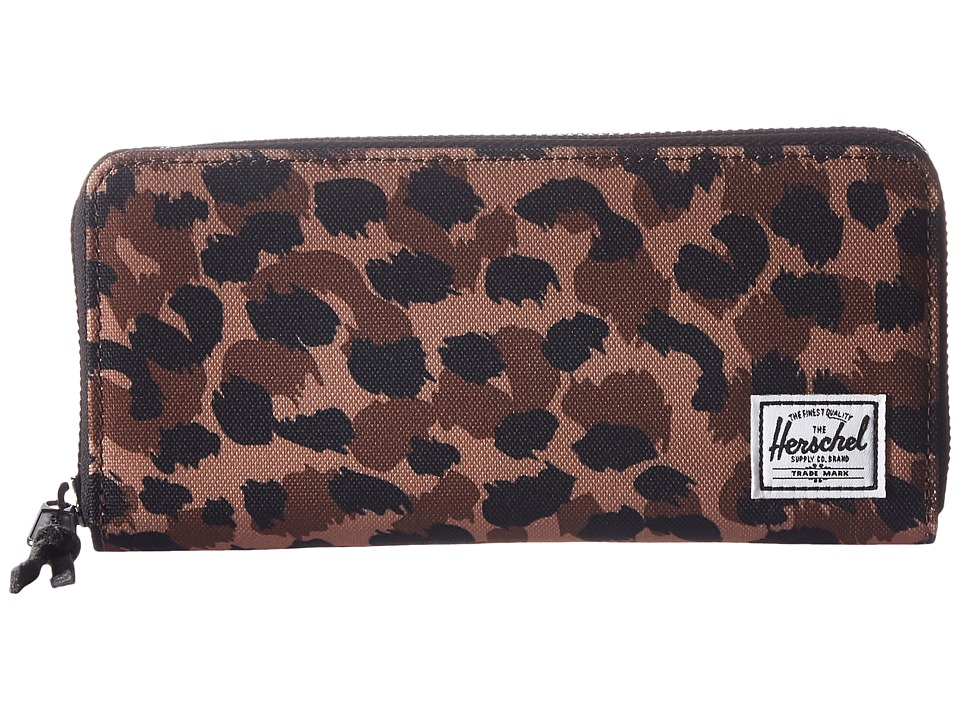 Herschel Supply Co. - Avenue RFID (Leopard) Wallet Handbags