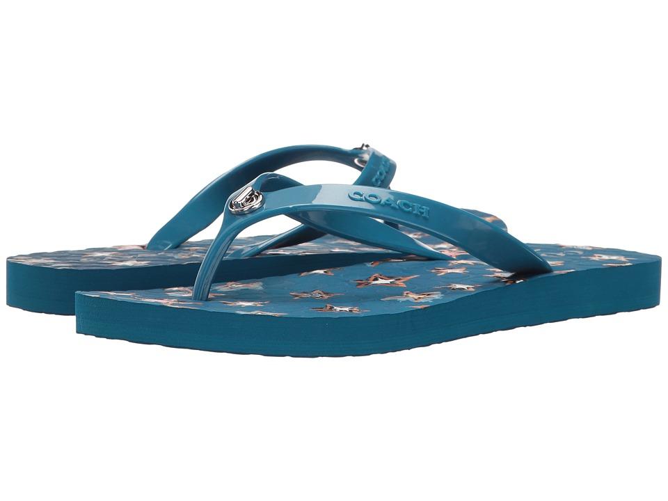 COACH - Abbigail (Denim) Women's Shoes