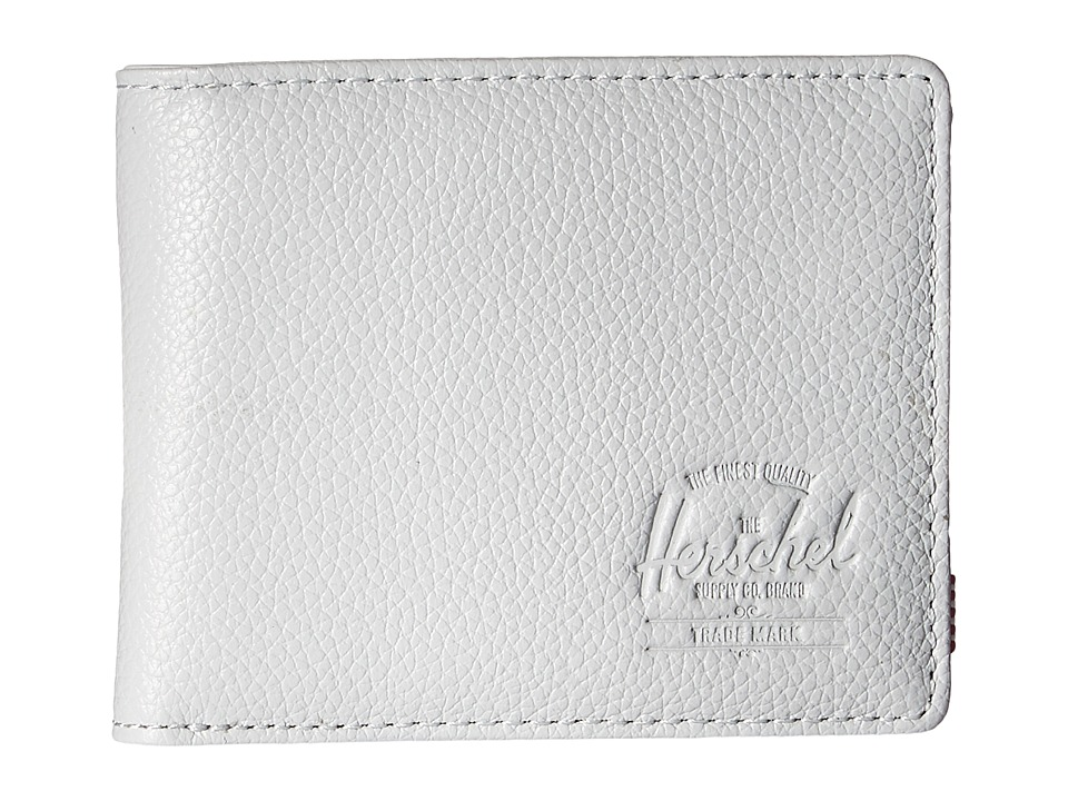 Herschel Supply Co. - Hank Leather RFID (Glacier Grey Pebbled Leather) Wallet Handbags