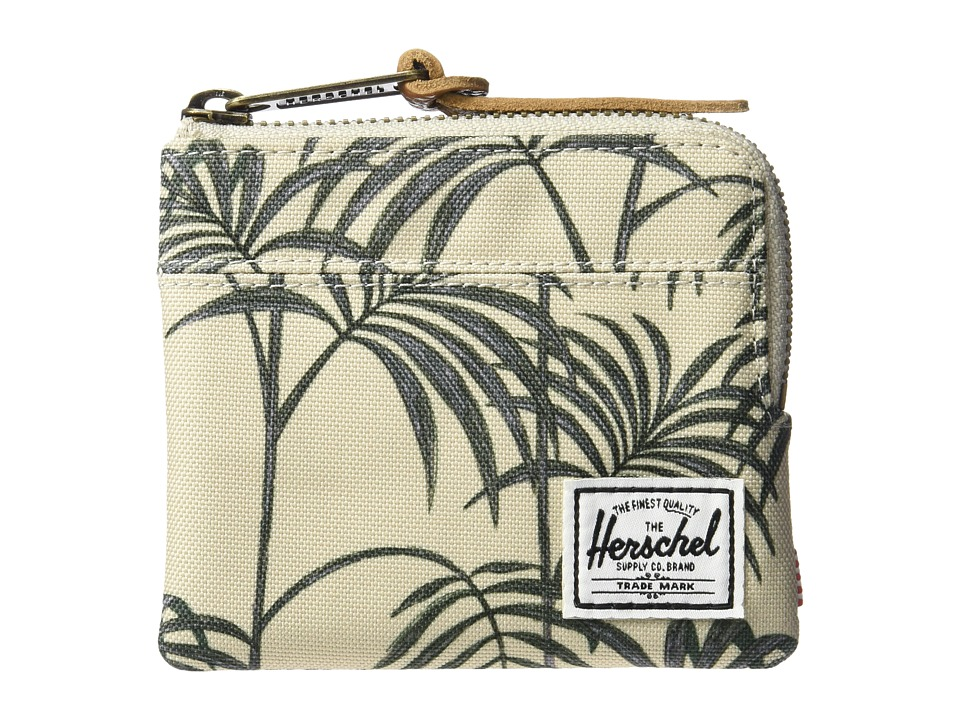 Herschel Supply Co. - Johnny RFID (Pelican Palm) Wallet Handbags