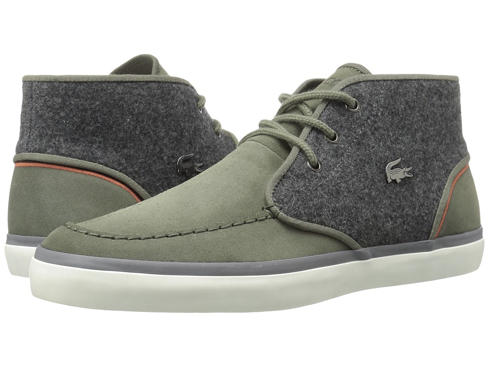 Lacoste - Sevrin Mid Lace 316 2 (Green) Men's Shoes