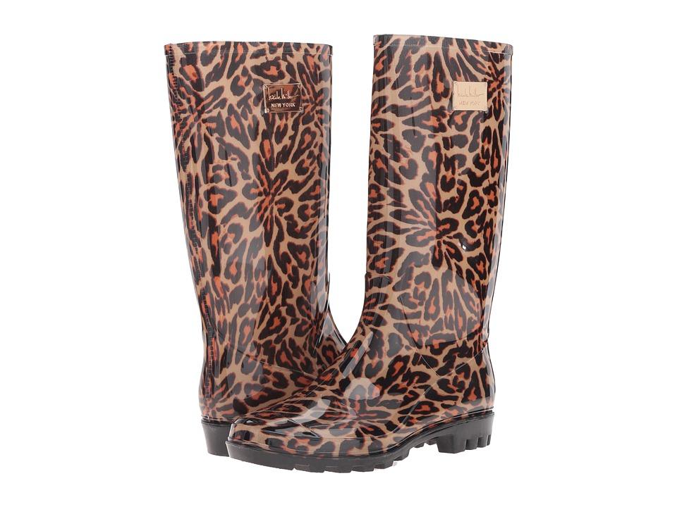 Nicole Miller New York - Rena (Leopard) Women's Rain Boots
