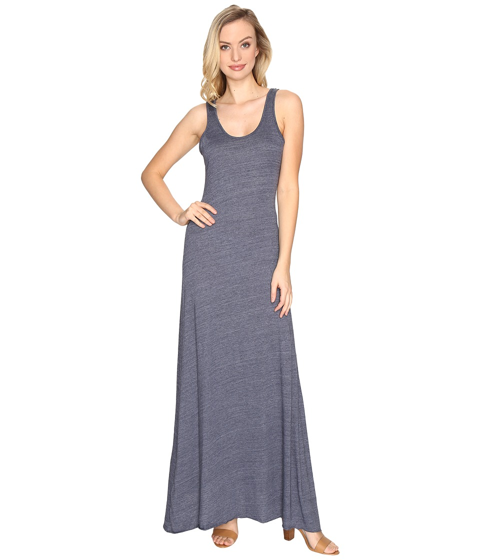 Alternative - Eco Jersey Double Scoop Tank Dress (Eco True Navy) Women's Dress