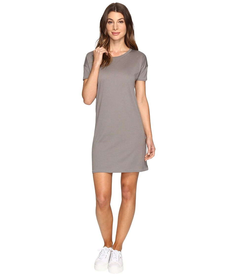 Alternative - Straight Up Cotton Modal T-Shirt Dress (Nickel) Women's Dress