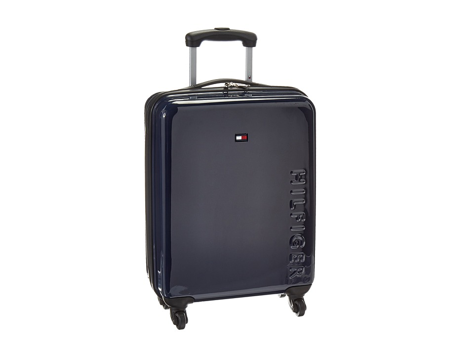Tommy Hilfiger - Bristol 21 Upright Suitcase (Navy) Carry on Luggage