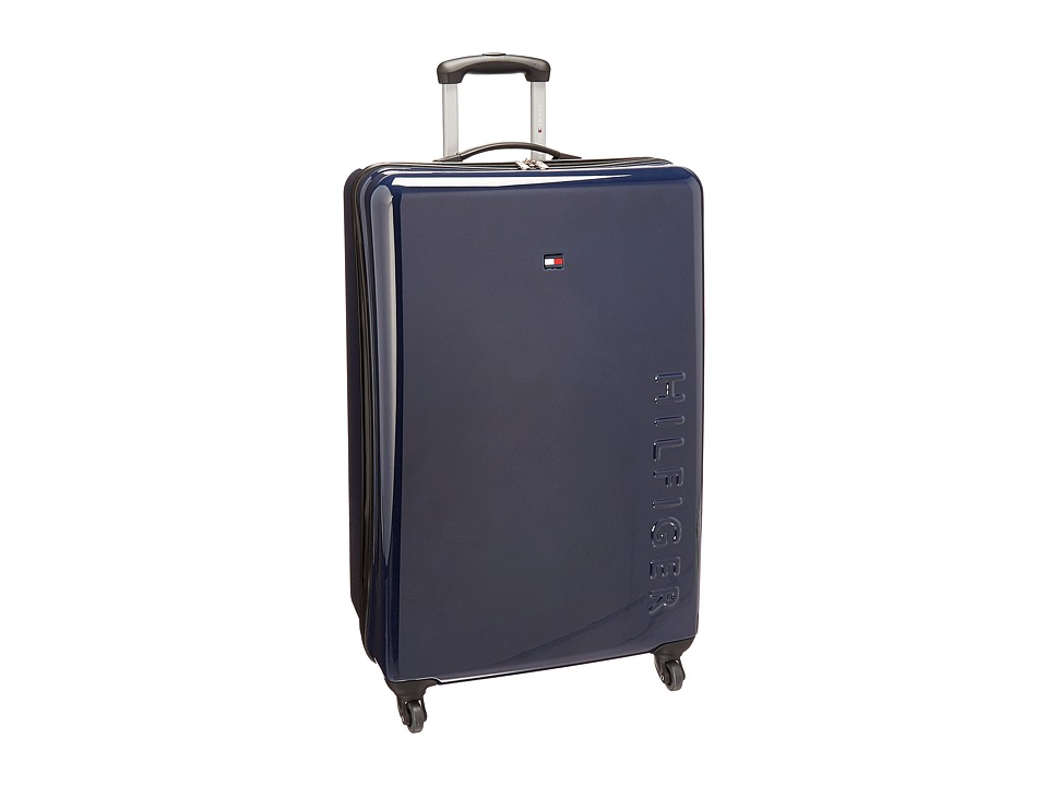 Tommy Hilfiger - Bristol 28 Upright Suitcase (Navy) Carry on Luggage