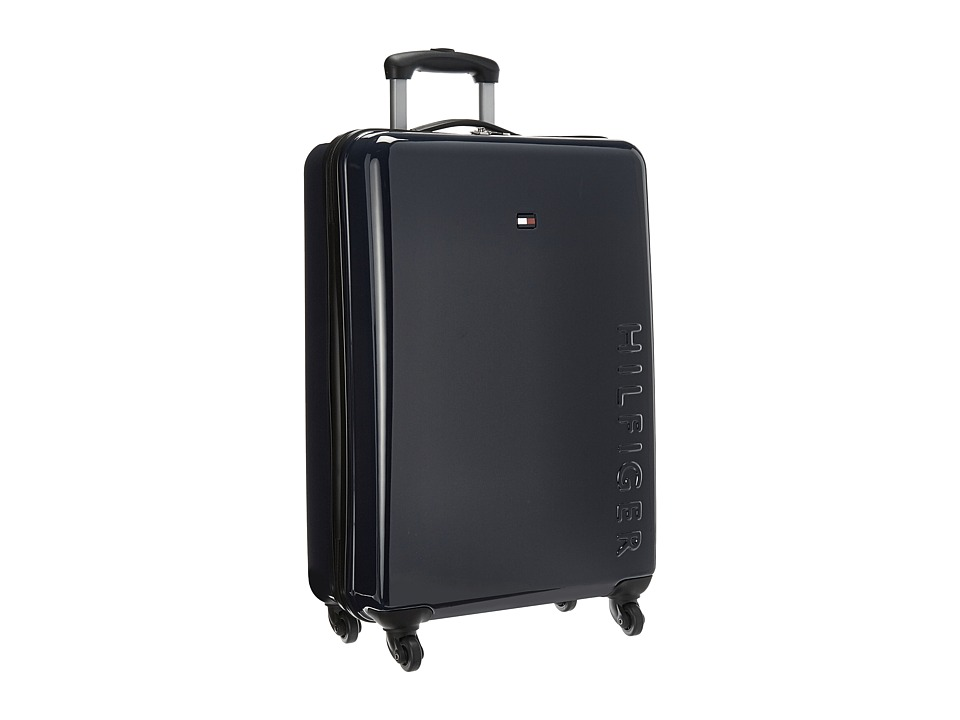 Tommy Hilfiger - Bristol 25 Upright Suitcase (Navy) Carry on Luggage
