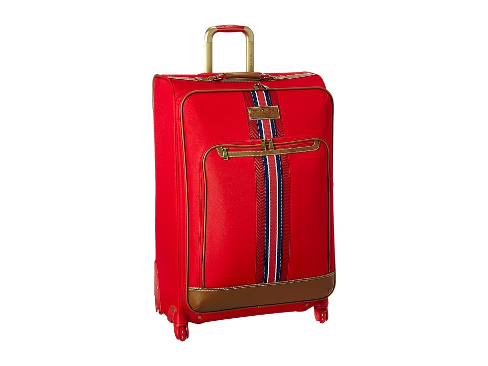 Tommy Hilfiger - Nantucket 28 Upright Suitcase (Red) Carry on Luggage