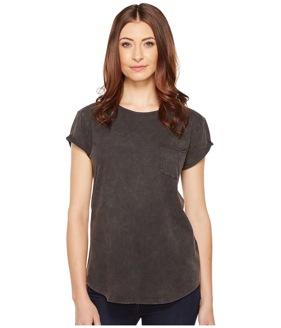Alternative Line-Dried Sun-Dried Wash T-Shirt (Sun-Dried Smoke) Women