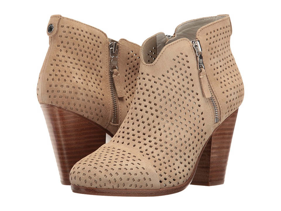 rag & bone - Margot Boot (Stucco Suede Perforated) Women's Boots