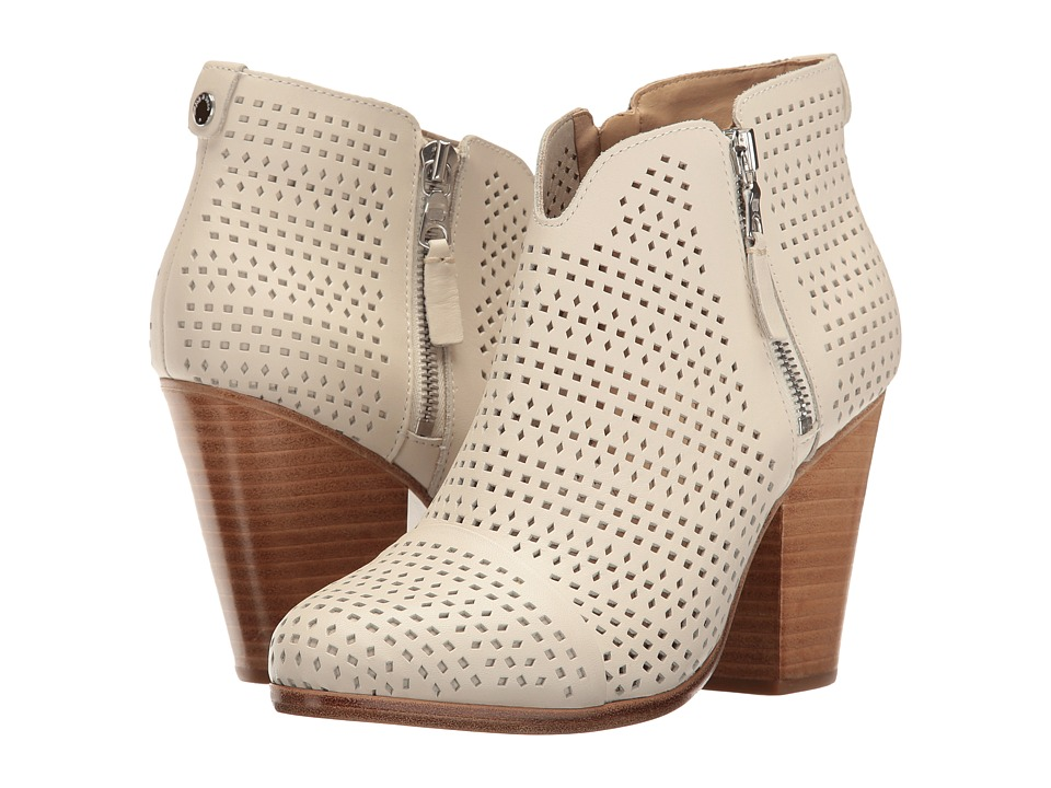 rag & bone - Margot Boot (White Perforated) Women's Boots