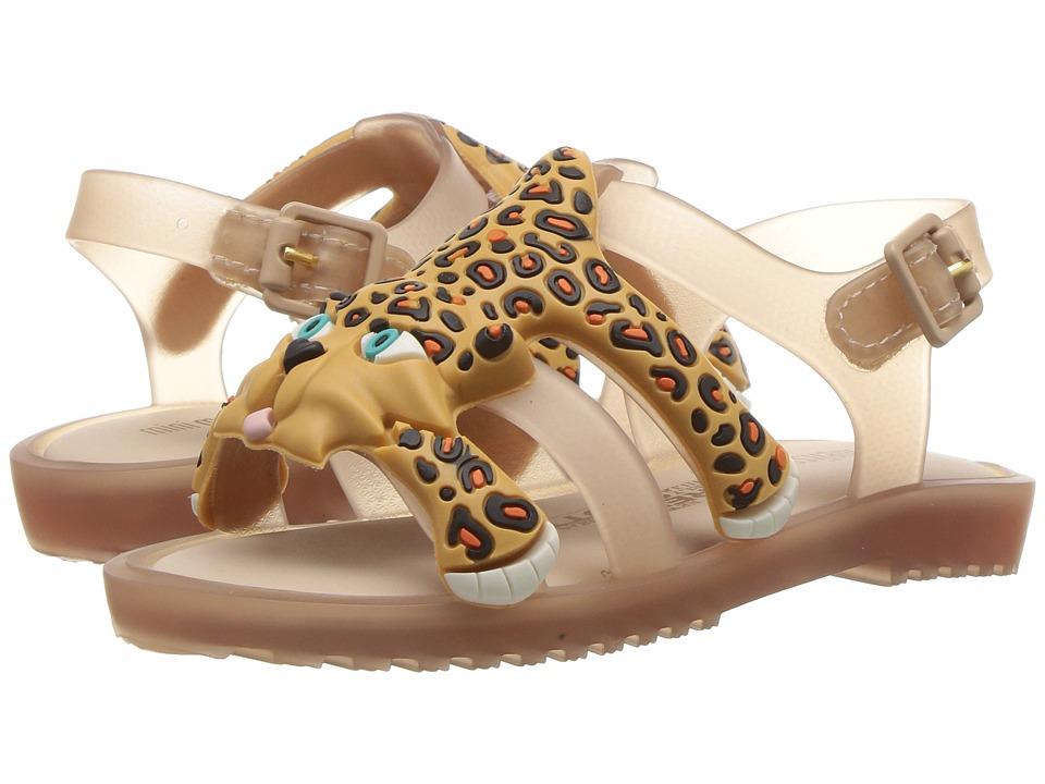 Mini Melissa - Mini Flox + JS (Toddler) (Beige Yellow) Girl's Shoes