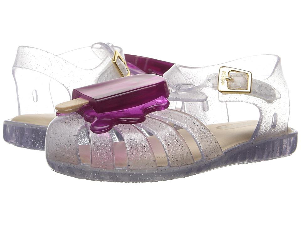 Mini Melissa - Aranha VIII (Toddler) (Clear) Girl's Shoes