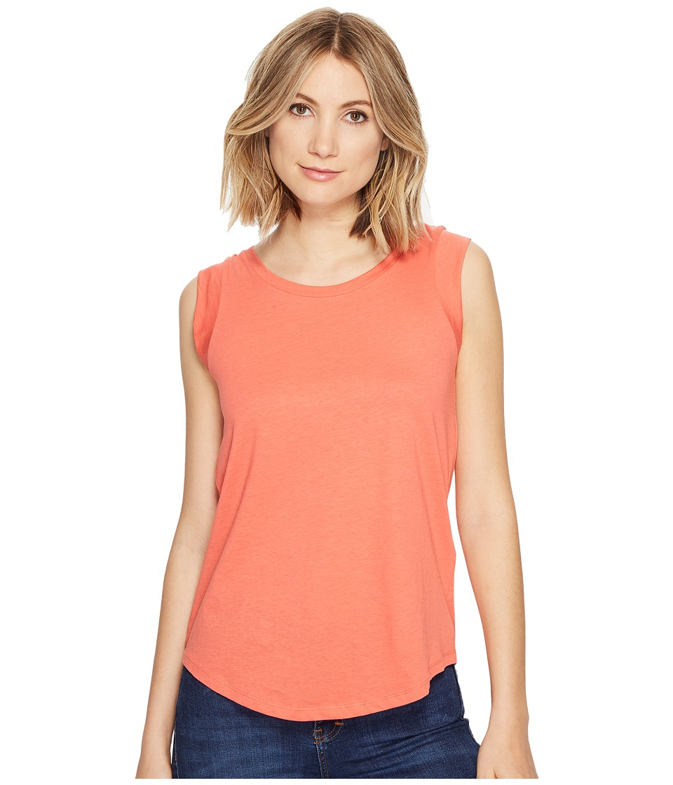 Alternative - Cap Sleeve Crew (Fire Coral) Women's T Shirt