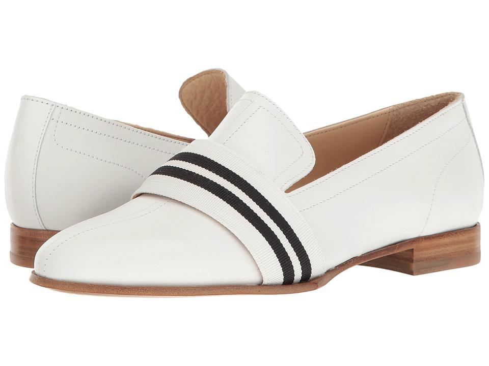 rag & bone - Amber Loafer (White) Women's Shoes