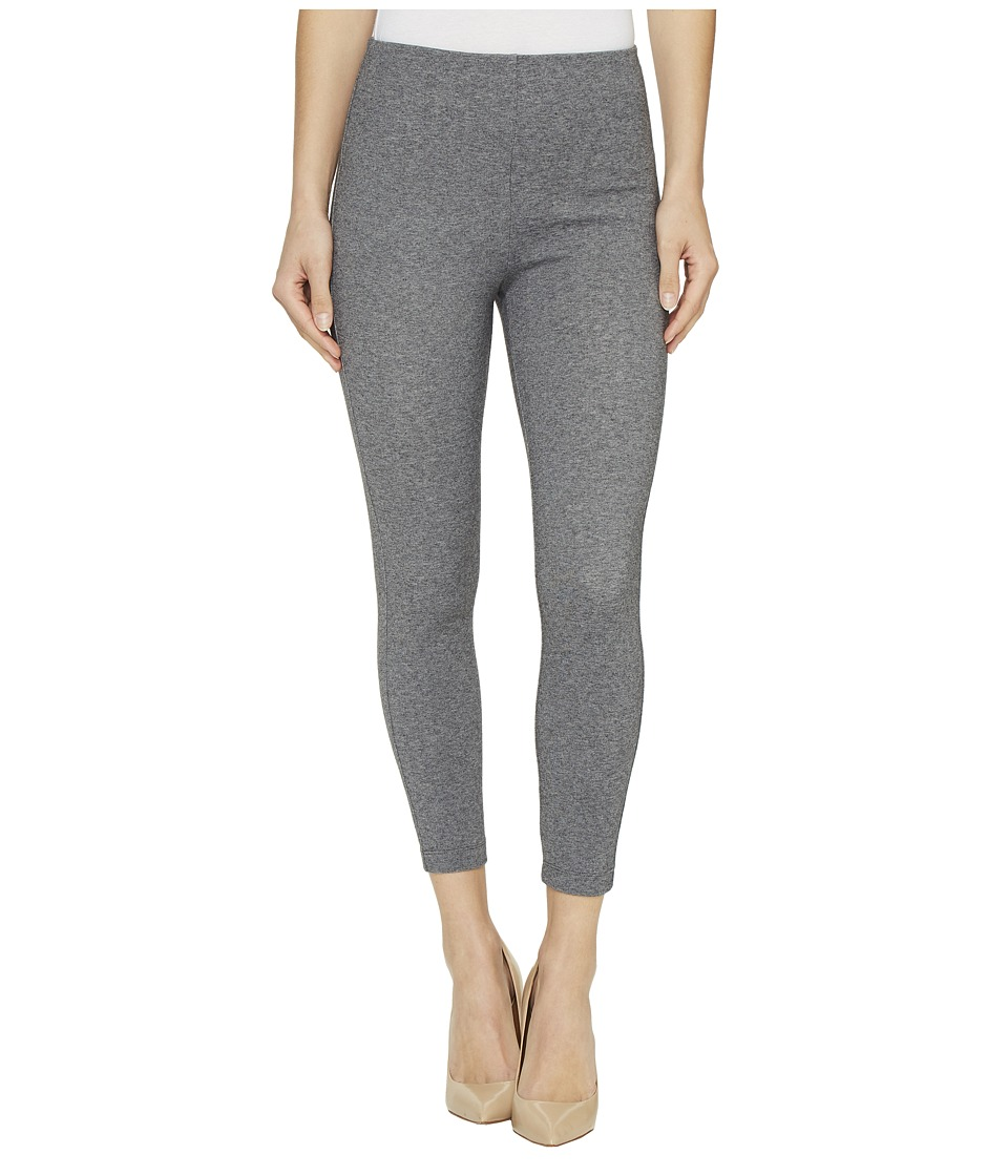 Lysse - High Waist Back Zip Crop (Grey Tweed) Women's Casual Pants