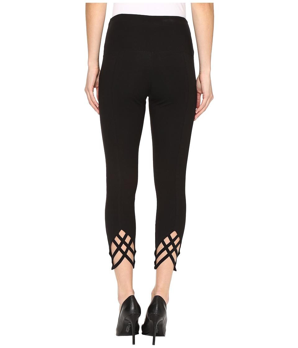 Lysse - Vita Crop Pants (Black) Women's Casual Pants