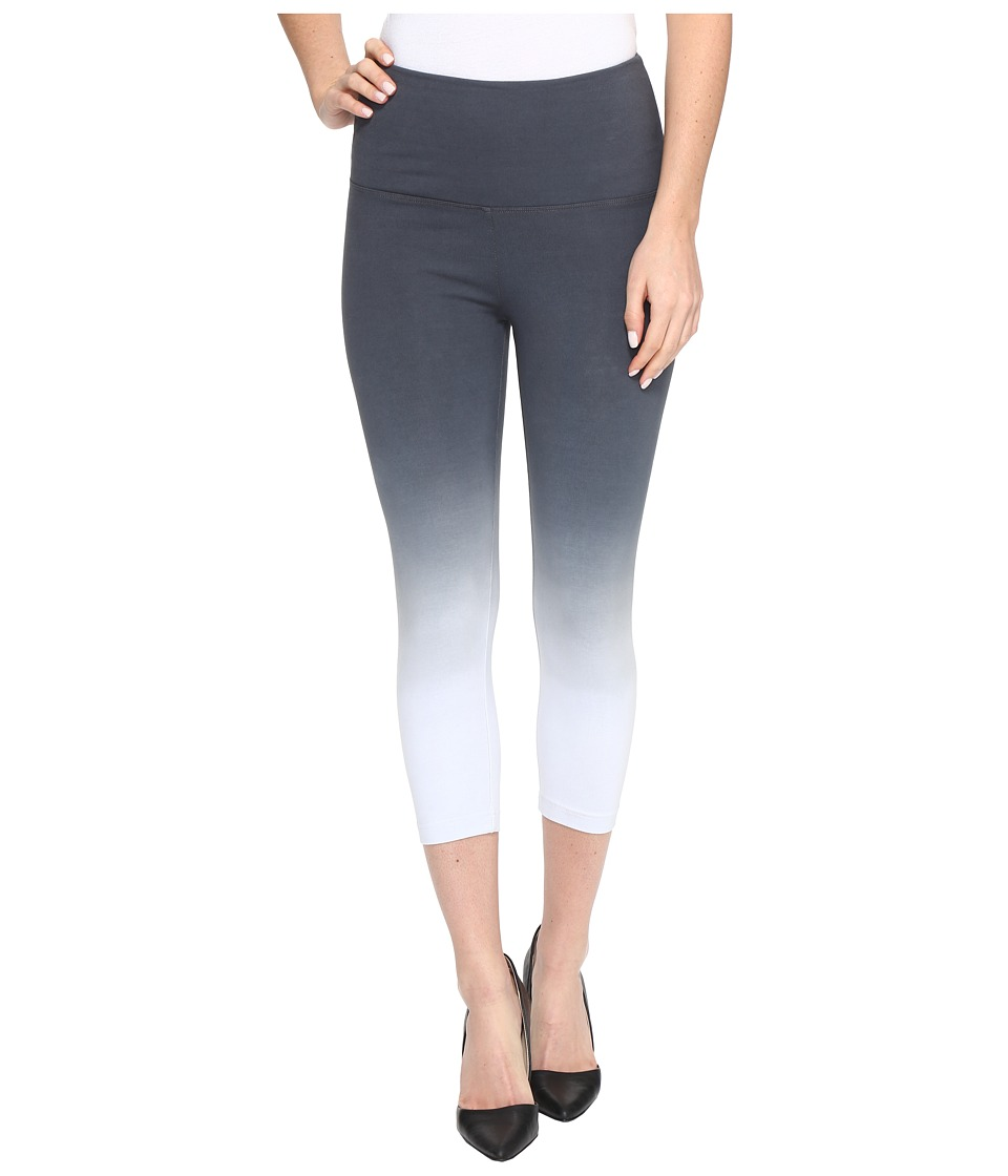 Lysse - Cotton Capri 1215 (Grey Dip-Dye) Women's Capri