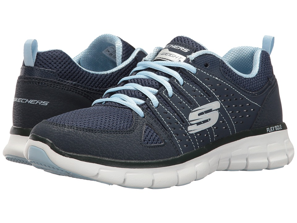 SKECHERS - Look Book (Navy) Women's Shoes