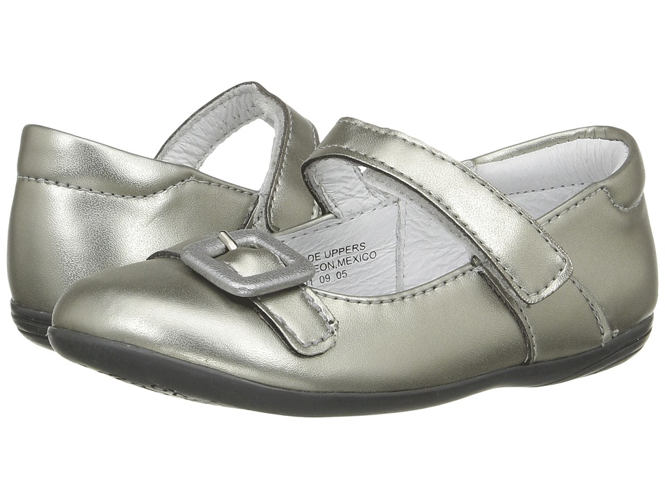 Kid Express - Daney (Toddler/Little Kid) (Pewter Metallic) Girl's Shoes
