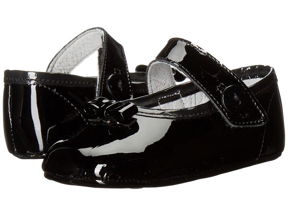 Kid Express - Gilma (Infant/Toddler) (Black Patent) Girl's Shoes
