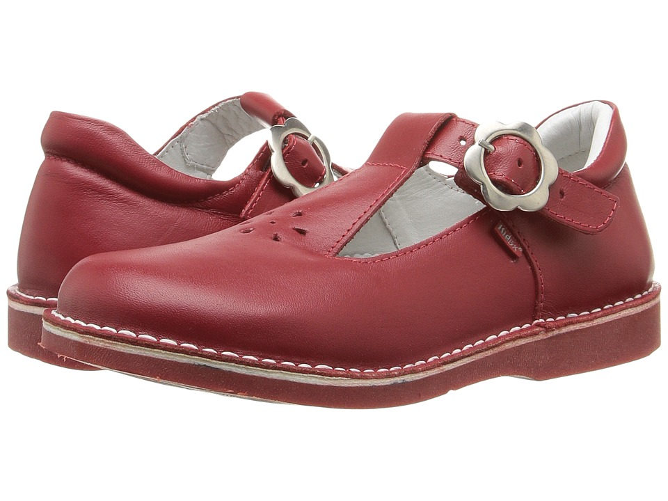 Kid Express - Shantel (Toddler/Little Kid/Big Kid) (Red Leather) Girl's Shoes