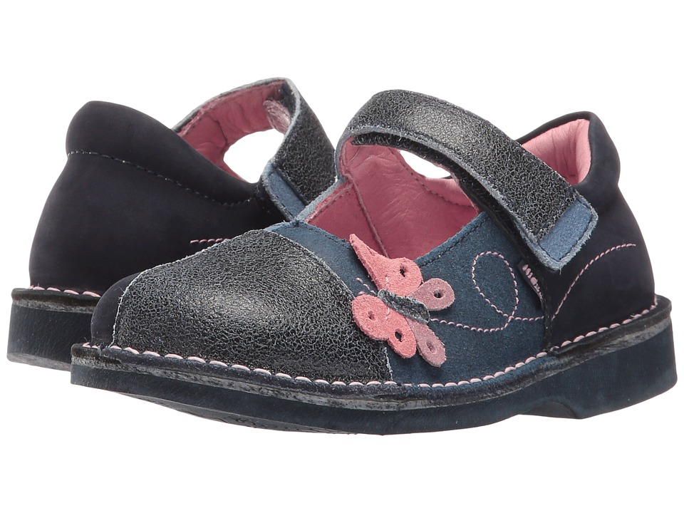Kid Express - Diora (Toddler/Little Kid) (Navy Combo) Girl's Shoes