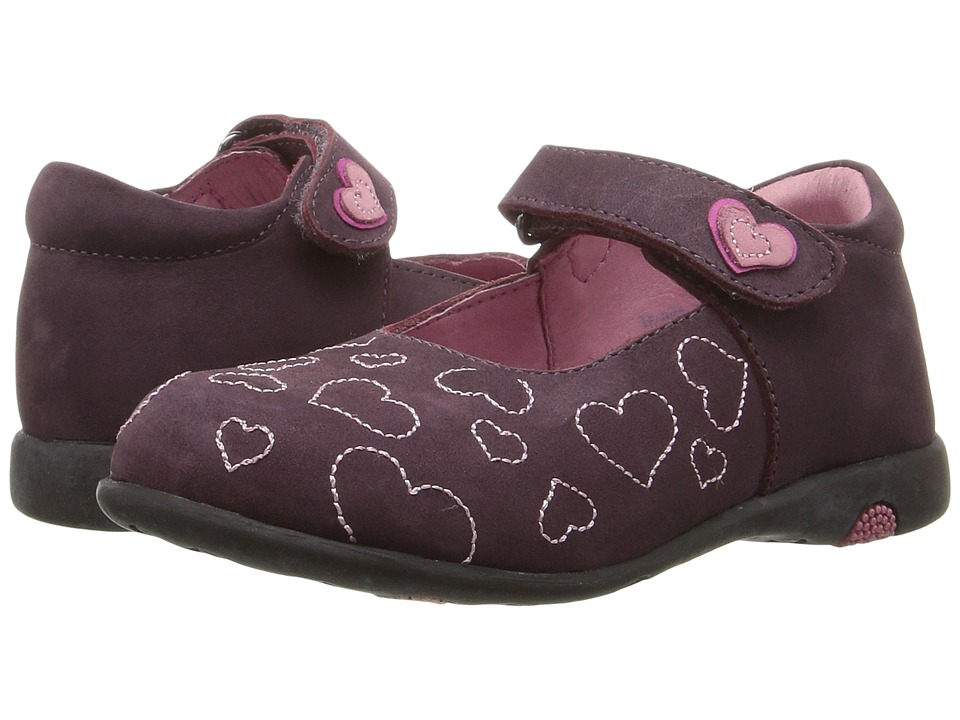 Kid Express - Hearty (Toddler/Little Kid) (Grape Nubuck) Girl's Shoes