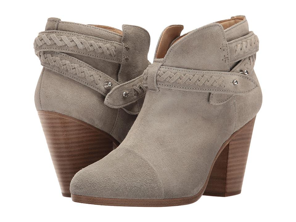 rag & bone - Harrow Boot (Cemento Suede Woven) Women's Boots
