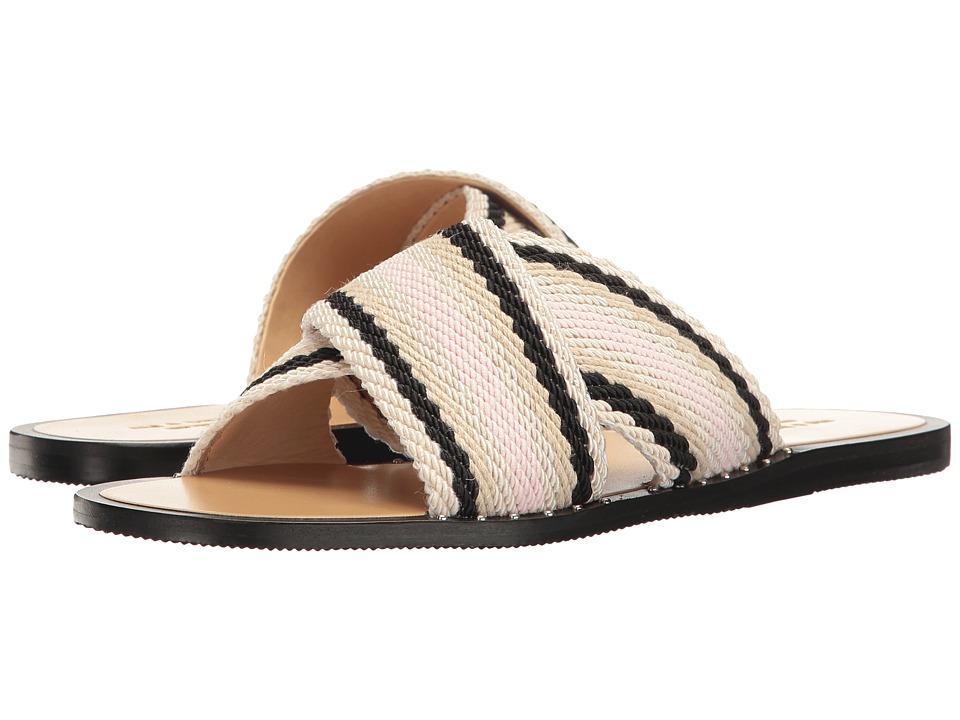 rag & bone - Keaton Slide (Pink Combo) Women's Shoes