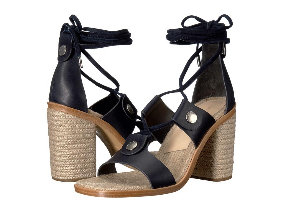 rag & bone - Eden (Navy) Women's Shoes