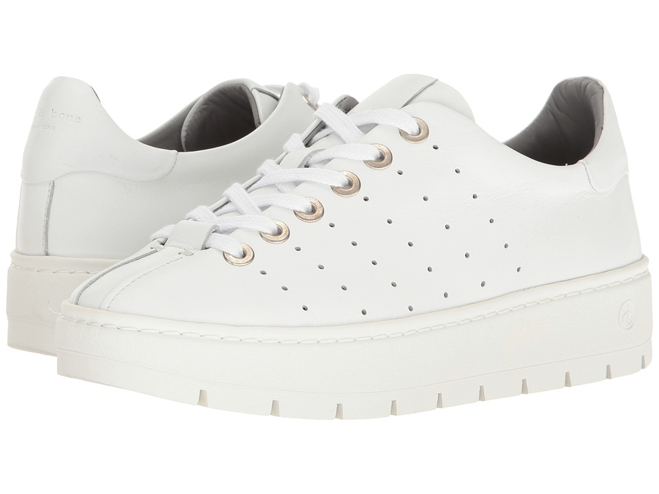 rag & bone - Linden (White) Women's Shoes