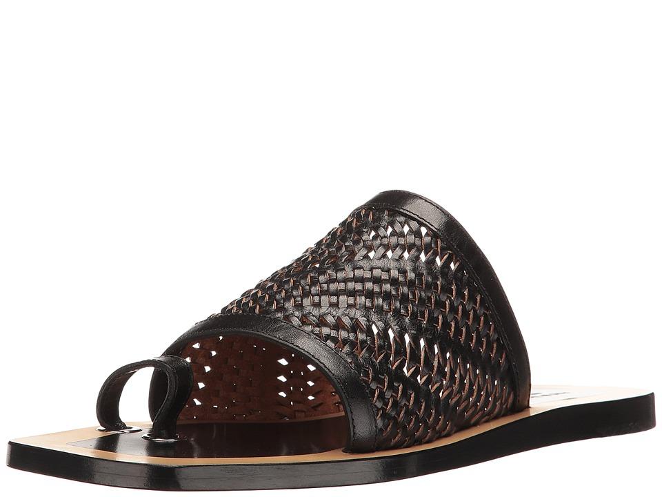 rag & bone - Ava (Black Woven) Women's Shoes