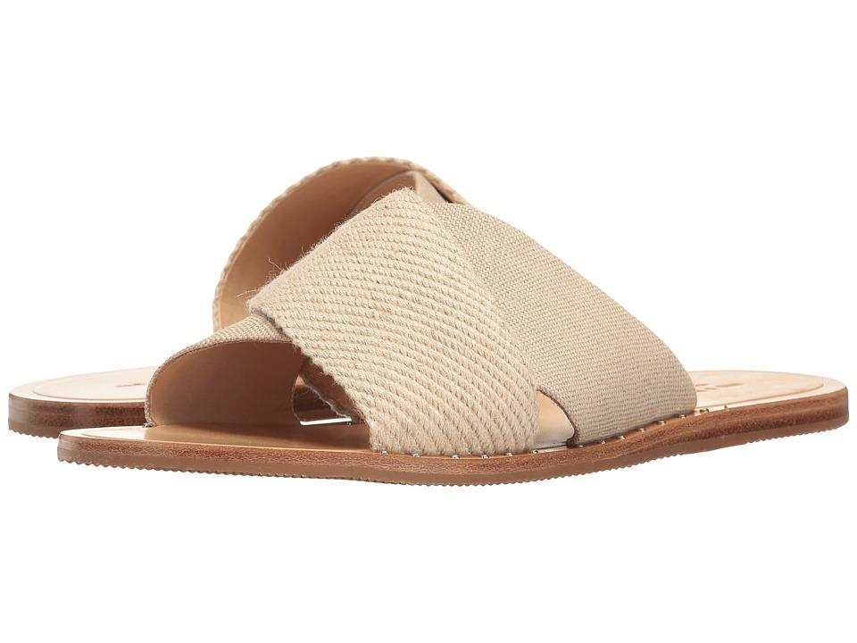 rag & bone - Keaton Slide (Linen Combo) Women's Shoes