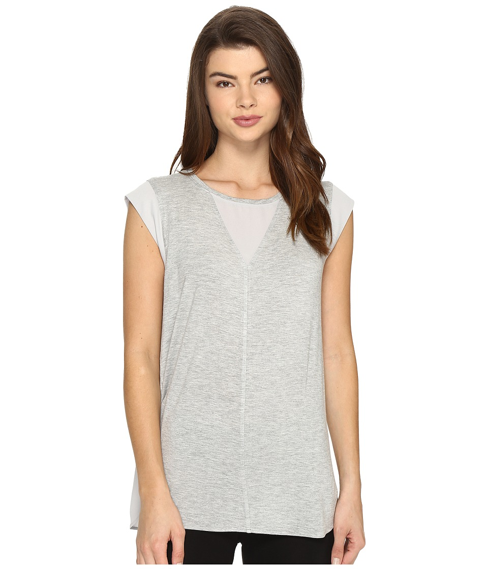 Lysse - Valencia Top (Heather Grey) Women's Clothing