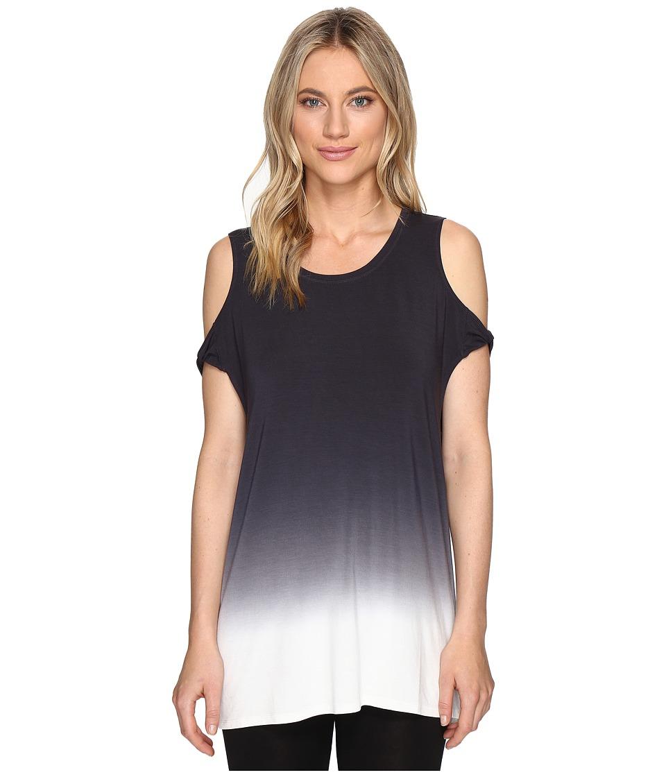 Lysse - Twist Tee (Grey Dip-Dye) Women's T Shirt