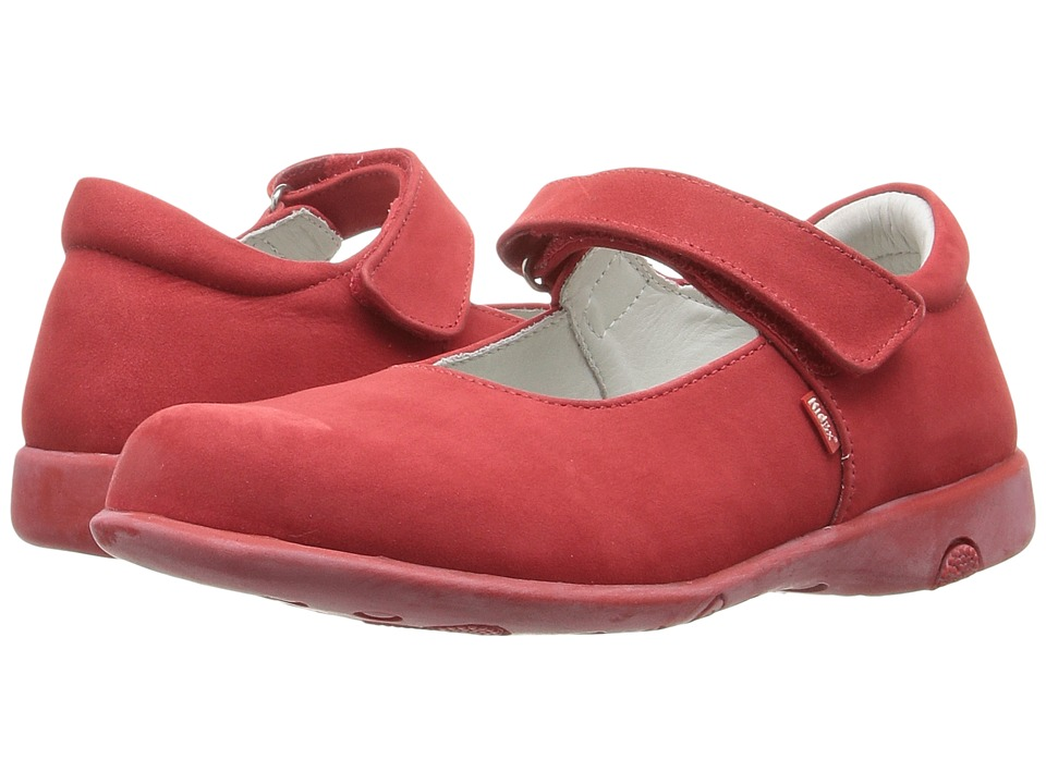 Kid Express - Bondi (Toddler/Little Kid/Big Kid) (Red Nubuck) Girl's Shoes