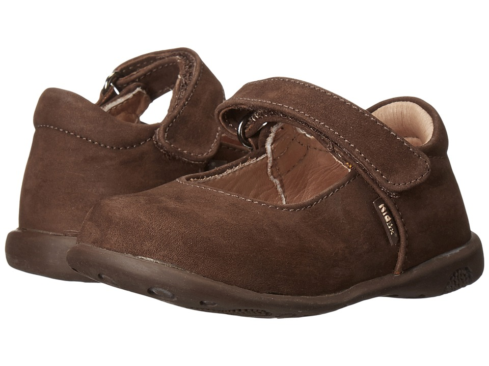 Kid Express - Bondi (Toddler/Little Kid/Big Kid) (Dark Brown Nubuck) Girl's Shoes
