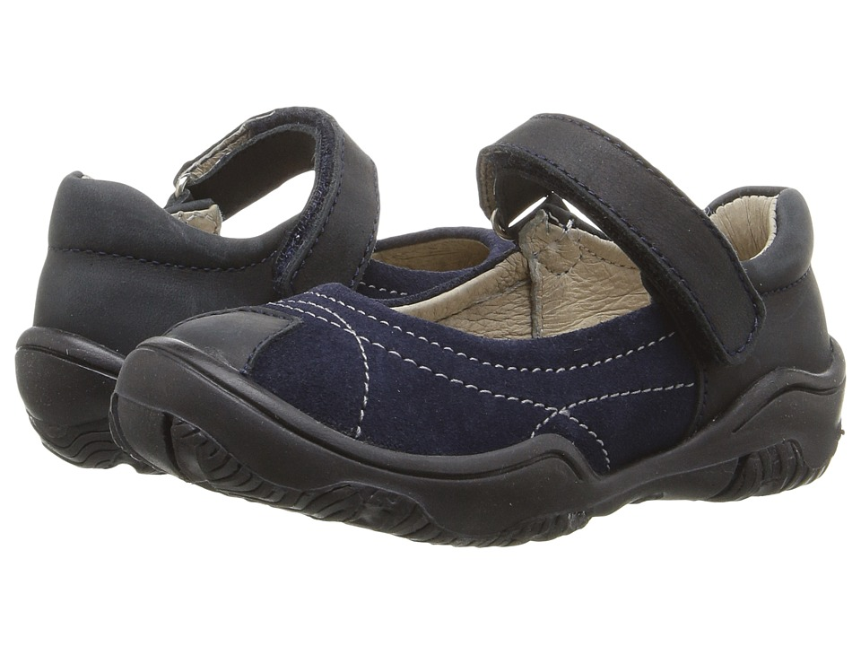 Kid Express - Dafny (Toddler/Little Kid) (Navy Combo) Girl's Shoes